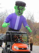 Huge Balloon - man - green faced monster