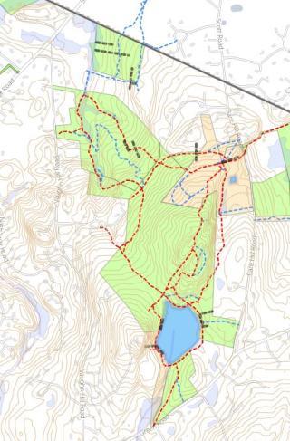 Vaughn Hill Map